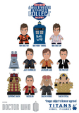"Doctor Who Titans 10th Doctor Gallifrey Vinyl 3"" Mini Figures (Blind Box)"