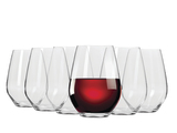 Krosno Vinoteca Stemless Red Wine - Set of 6 - 540ml