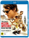 Mission Impossible 5 - Rogue Nation on Blu-ray