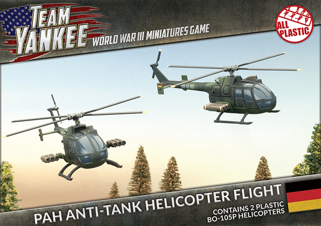 Flames of War: Team Yankee PAH Anti-tank Helicopter Flight