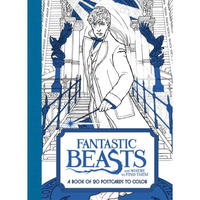 Fantastic Beasts and Where to Find Them: A Book of 20 Postcards to Colour by Warner Brothers Studio