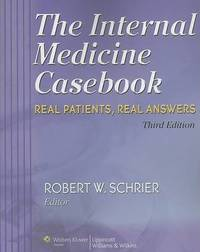 The Internal Medicine Casebook by Robert W. Schrier image