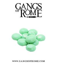 Gangs of Rome: Green Activation Pebbles (10)