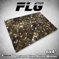 FLG Ancient Alien Ruins Winter Neoprene Gaming Mat (6x4)