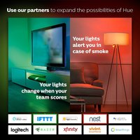Philips Hue Color/White Bulb - Edison Screw image