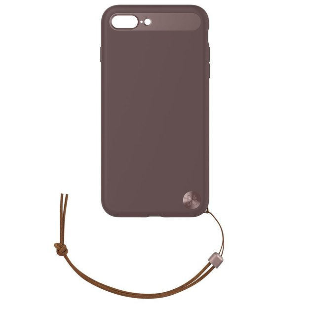 B&O Case with Lanyard for iPhone 8 Plus & iPhone 7 Plus - Deep Red