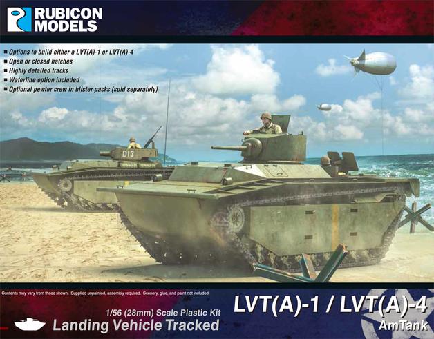 Rubicon 1/56 LVT(A)-1 / LVT(A)-4 AmTank
