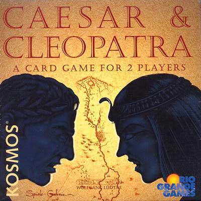 Caesar and Cleopatra - card game image