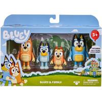 Bluey And Friends - Bluey Family Figure Pack