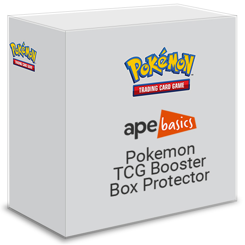 Ape Basics: Pokemon TCG Booster Box Protector (Current) - 10-Pack