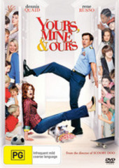 Yours, Mine & Ours on DVD