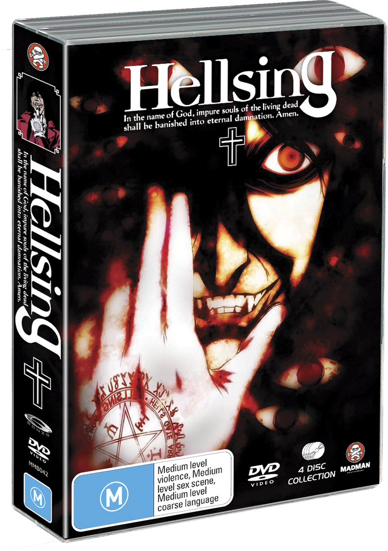 Hellsing Collection (4 Disc Amaray Case) on DVD image