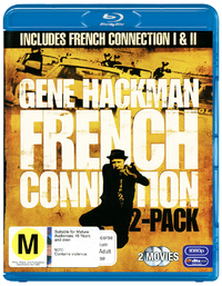 French Connection 1 & 2 (2 Disc Set) on Blu-ray