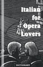 Italian for Opera Lovers by Sasha Newborn image