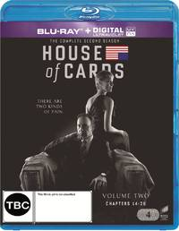 House of Cards - The Complete Second Season on Blu-ray