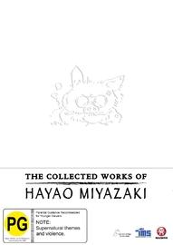 The Collected Works of Hayao Miyazaki Box Set on Blu-ray
