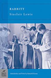 Babbitt (Barnes & Noble Classics Series) by Sinclair Lewis