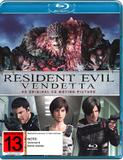 Resident Evil: Vendetta on Blu-ray