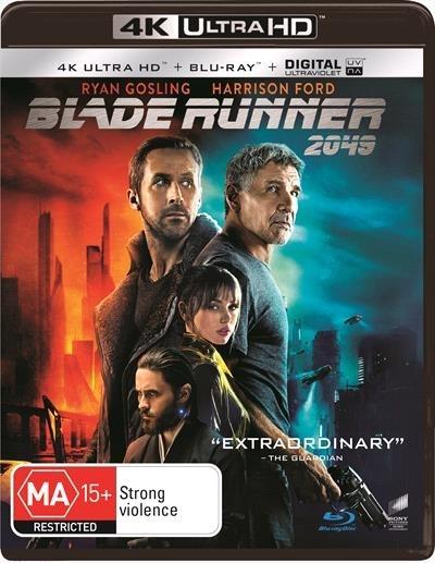 Blade Runner 2049 (4K UHD + Blu-ray) on UHD Blu-ray