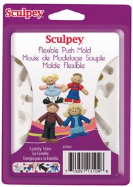 Sculpey Push Molds - Family Time