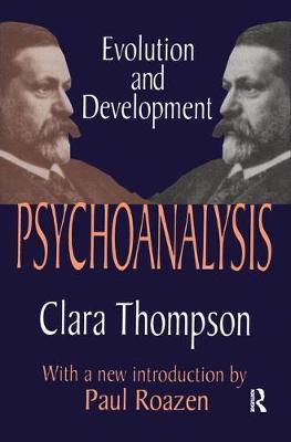 Psychoanalysis by Clara Thompson image