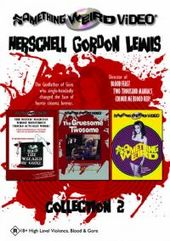 Herschell Gordon Lewis Collection 2 (3 Disc Box Set) on DVD