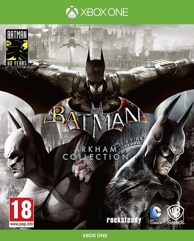 Batman Arkham Collection Steelbook Edition for Xbox One