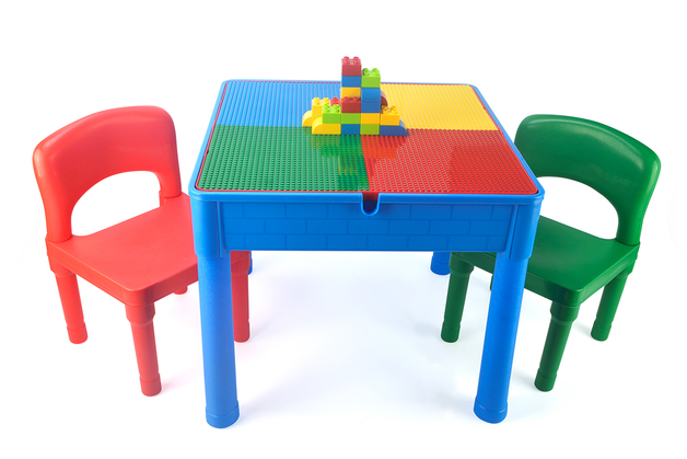Kids Square 3-in-1 Activity Table (Primary)