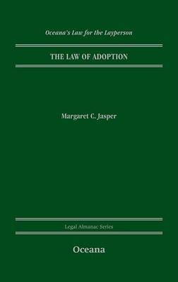The Law of Adoption by Margaret C Jasper image