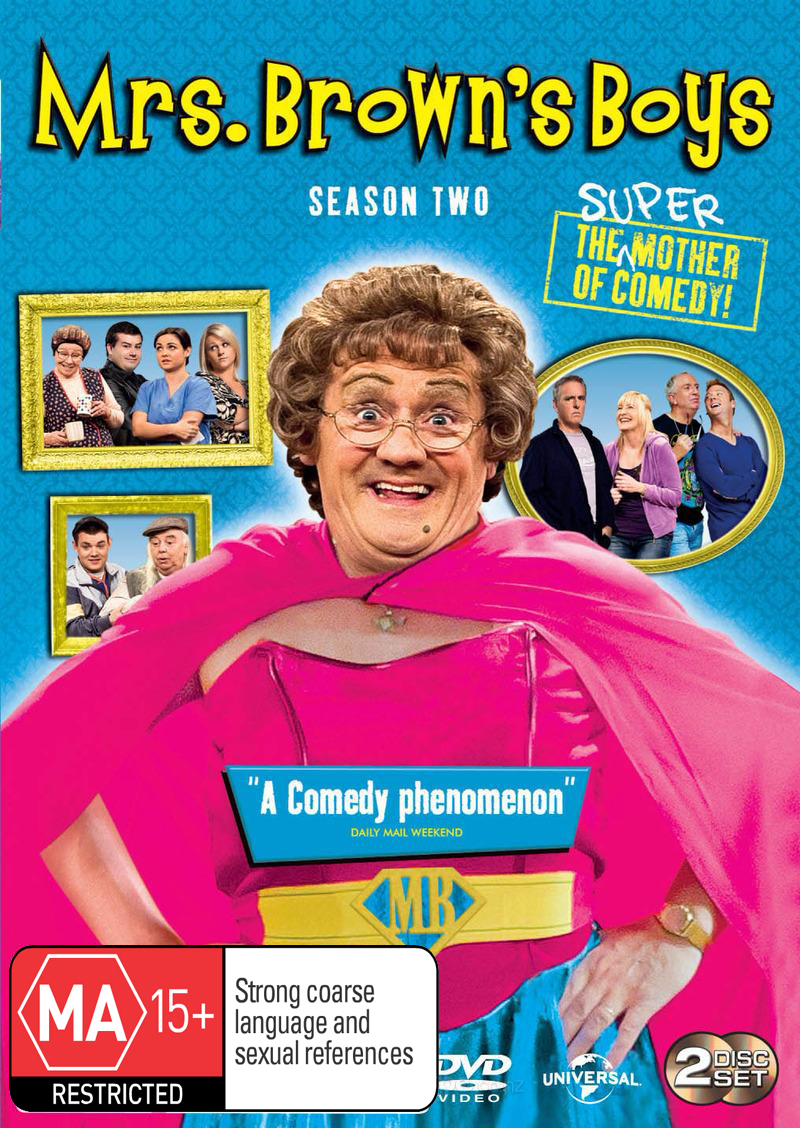 Mrs. Brown's Boys - Season Two on DVD image
