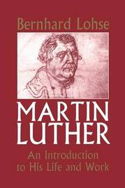 Martin Luther by Bernhard Lohse image