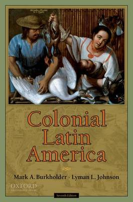 Colonial Latin America by Mark A. Burkholder image