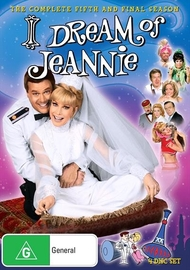 I Dream of Jeannie (Season 5) on DVD