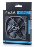 Fractal Design: Venturi Series HP-12 PWM Case Fan (120mm) - Black