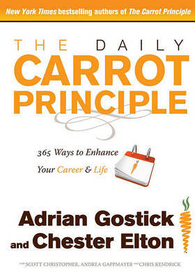 The Daily Carrot Principle by Adrian Gostick image