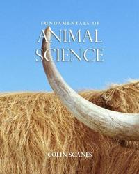 Fundamentals of Animal Science by Colin Scanes image