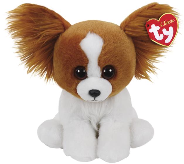 Ty Beanie Babies: Barks Brown Dog - Small Plush