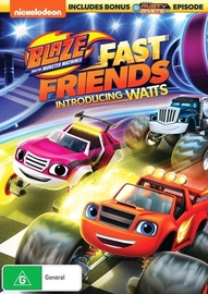Blaze And The Monster Machines: Fast Friends! on DVD
