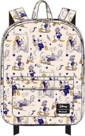 Loungefly: Mickey Mouse - Donald Print Backpack