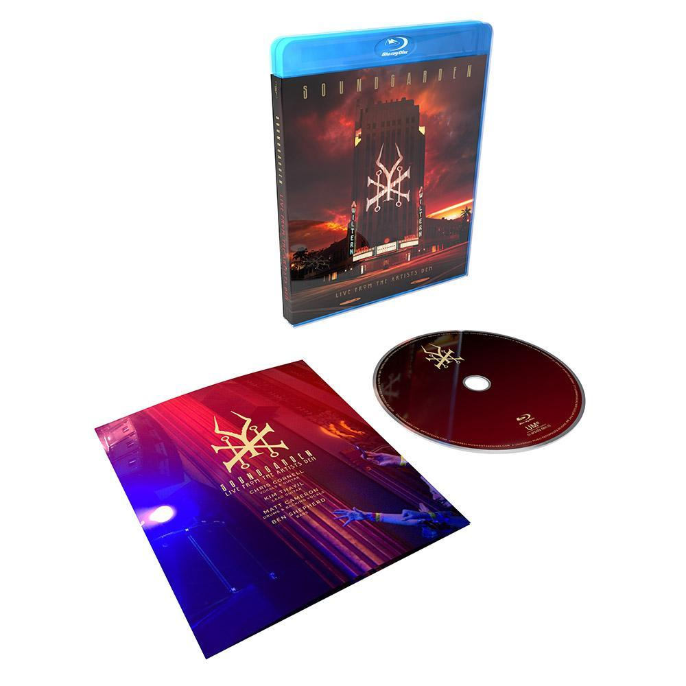 Live From The Artists Den on Blu-ray by Soundgarden image