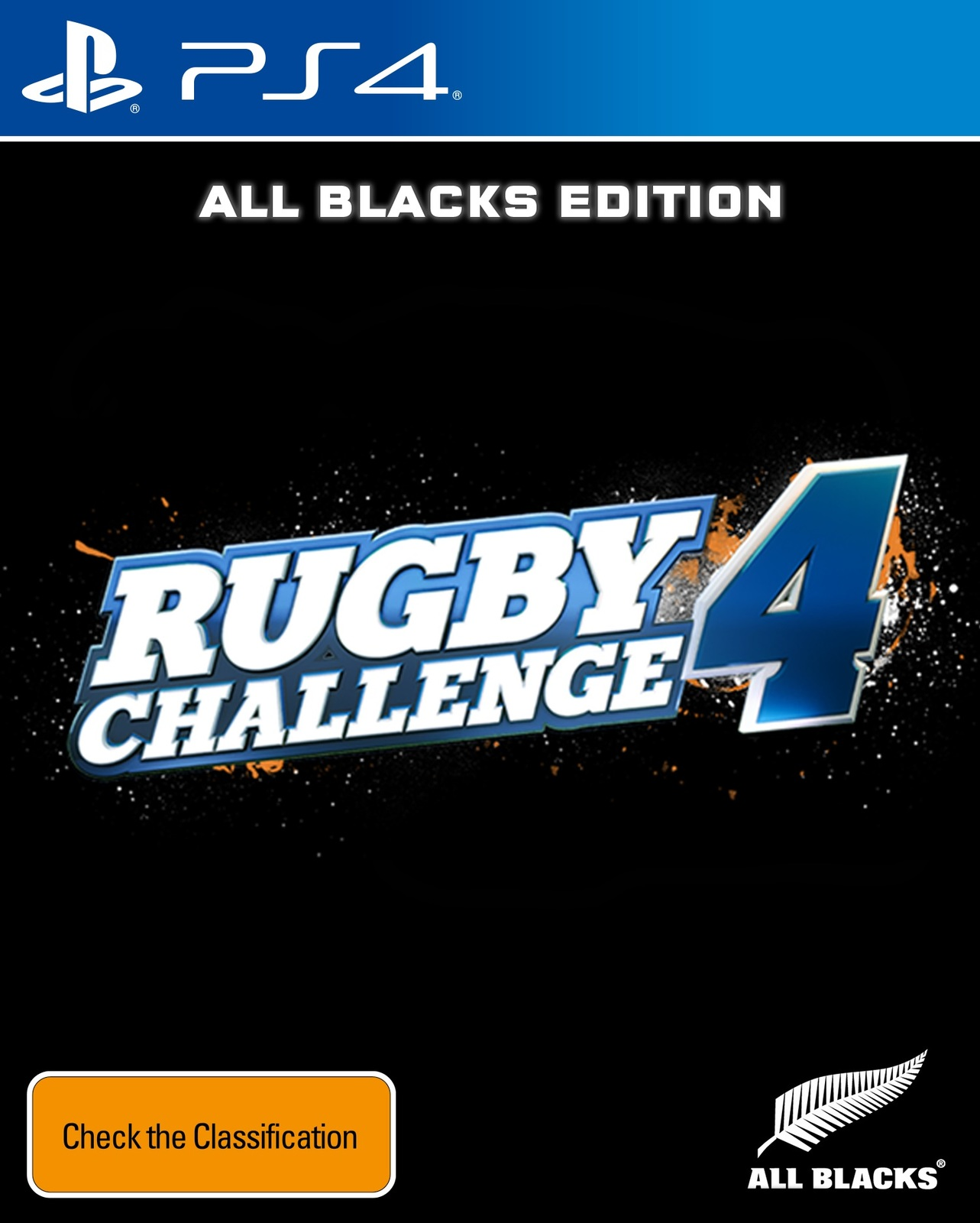 All Blacks Rugby Challenge 4 for PS4 image