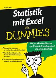 Statistik Mit Excel Fur Dummies by Joseph Schmuller image