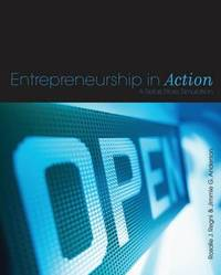 Entrepreneurship in Action: A Retail Store Simulation by Jimmie G. Anderson image