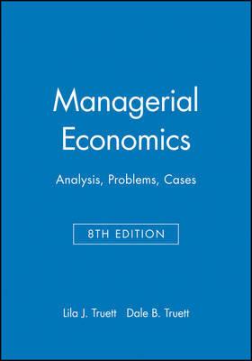 Managerial Economics by Lila J. Truett image