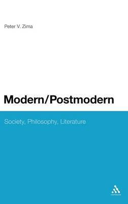 Modern/Postmodern by Peter V. Zima image