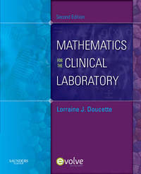 Mathematics for the Clinical Laboratory by Lorraine J. Doucette image