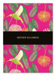 Museum & Galleries: Matthew Williamson Deluxe Notebook - Hummingbirds