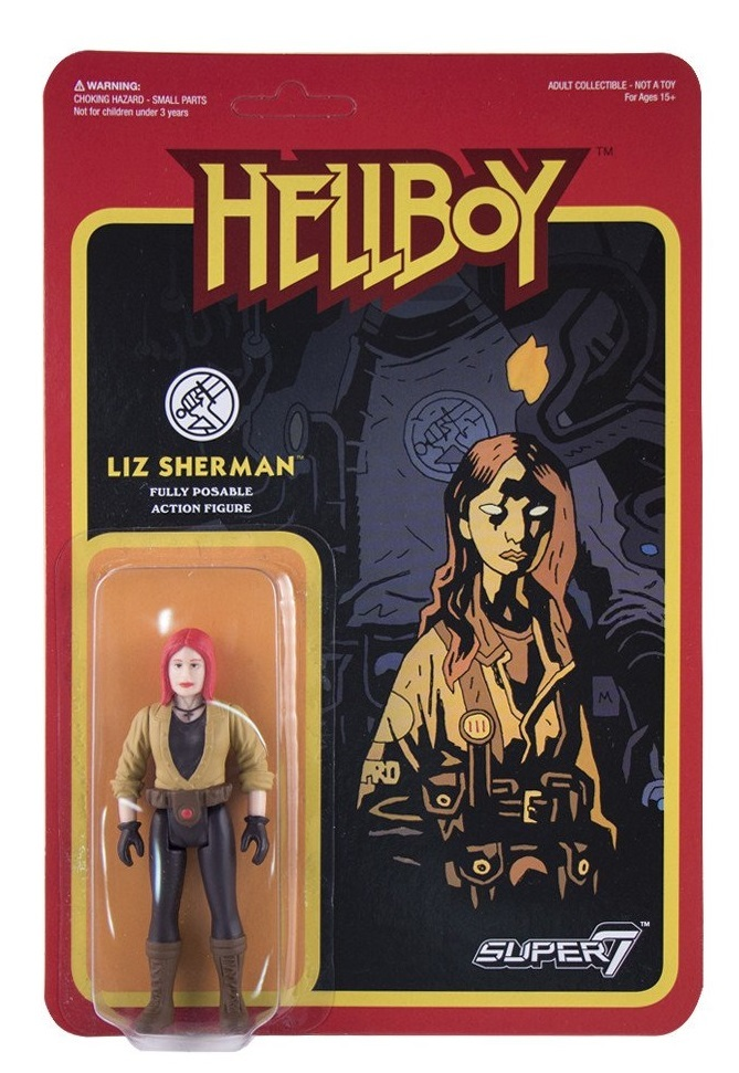 Hellboy - Liz Sherman Retro Action Figure image