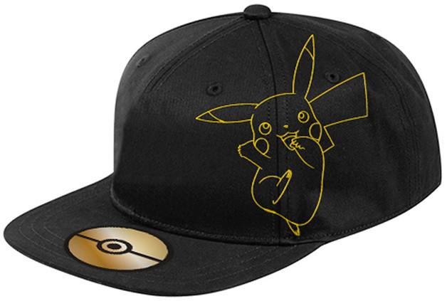 Pokemon: Black & Gold - Flat Peak Cap
