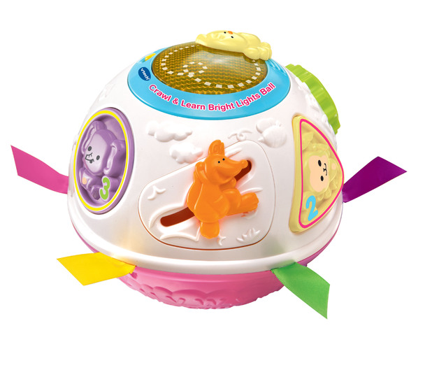 Vtech: Crawl & Learn - Bright Lights Ball (Pink)